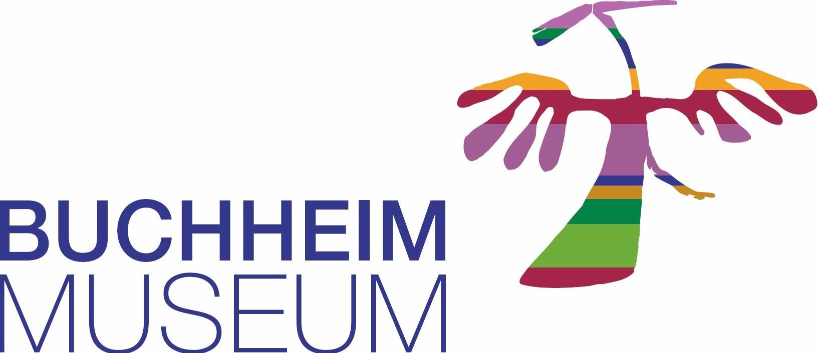 Logo des Buchheimmuseums, mit Phoenix