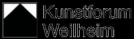 Logo des Kunstforum Weilheim